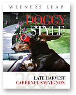 2005 DOGGY STYLE LATE HARVEST CABERNET SAUVIGNON